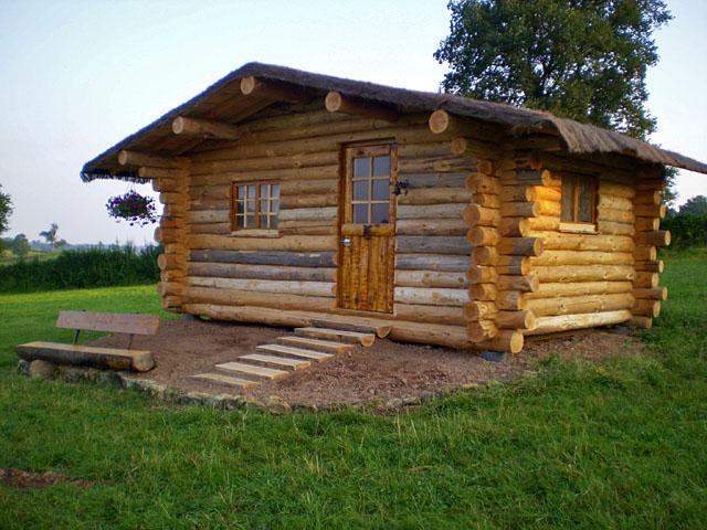 Cabane de trappeur en Bourgogne