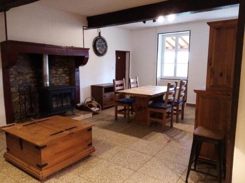 Salon du gite rural en Bourgogne