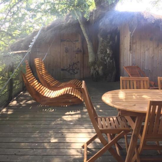 Terrasse de la Cabane dans les Arbres
