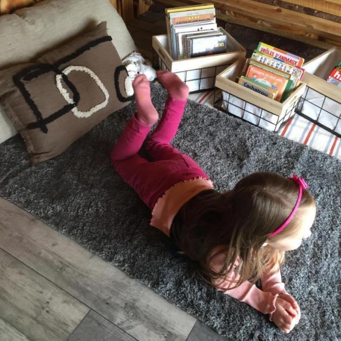 Le coin lecture et détente